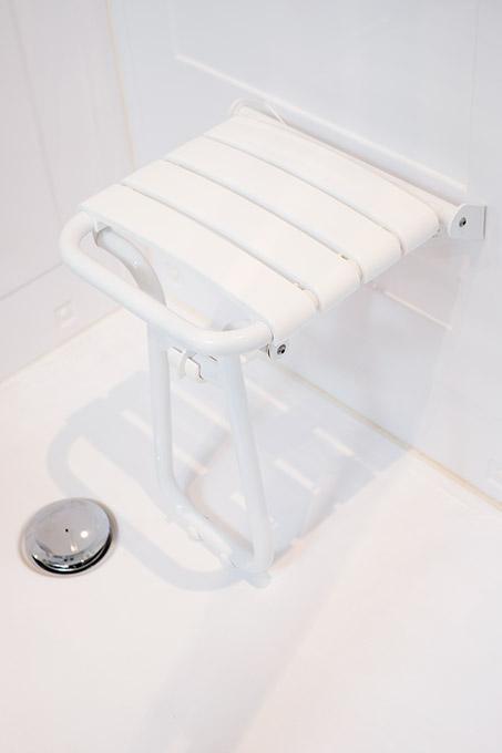 Opklapbare stoel voor extra comfort