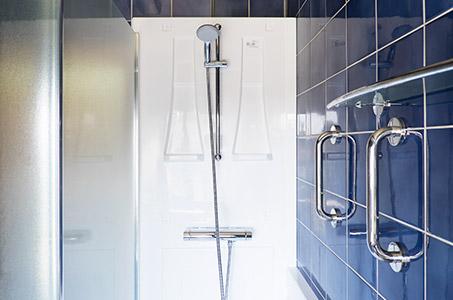 Stappenplan - Veilig en comfortabel douchen
